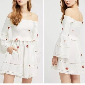 Free People Counting Daisies Dress Size S